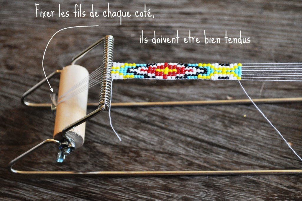 diy : le bracelet de perle navajo - elsamuse - diy, stop motion & mode